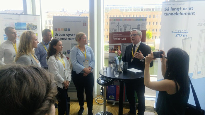 DTU's impactful presence at Fehmarnbelt Days 2018