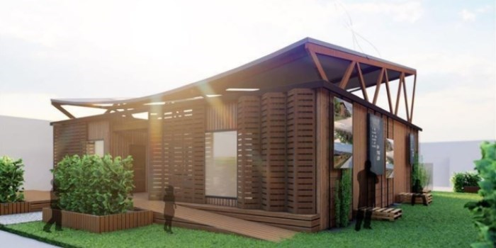 DTU students' solar energy house Aurora to be built in China